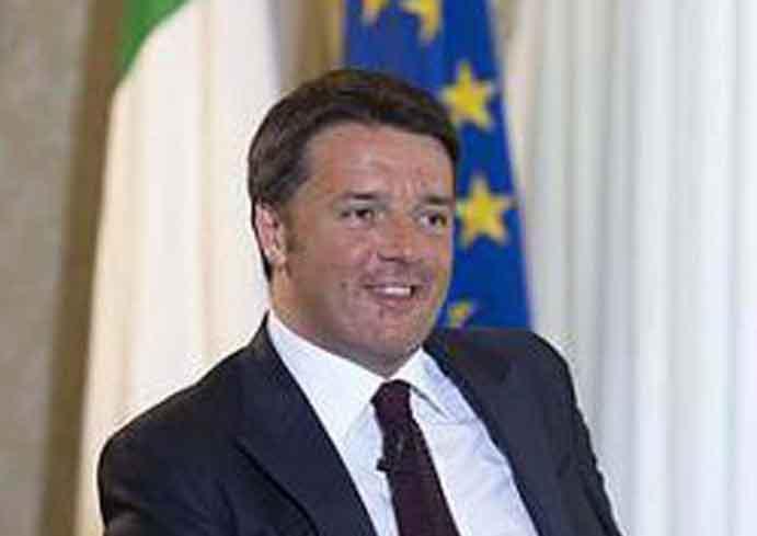 Matteo Renzi, Presidente del Consejo de Ministros la República Italiana.