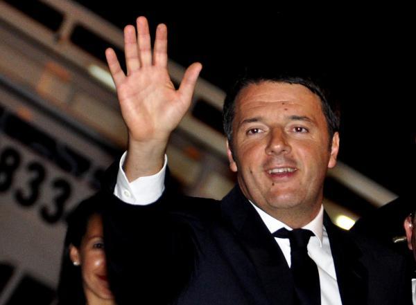 Un saludo al pueblo de Cuba envió Matteo Renzi. (Foto AIN)