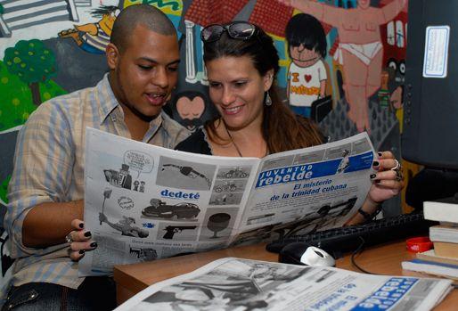 cuba, prensa cubana, juventud rebelde, periodistas, fidel castro, raul castro