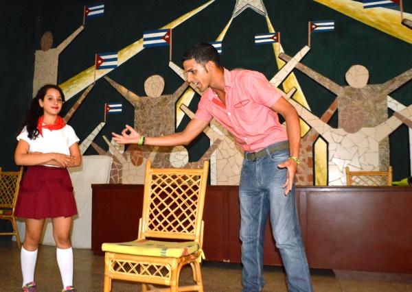La obra teatral Lily destacó por la originalidad del guión y la amena puesta en escena. (Foto: Carlos Luis Sotolongo)