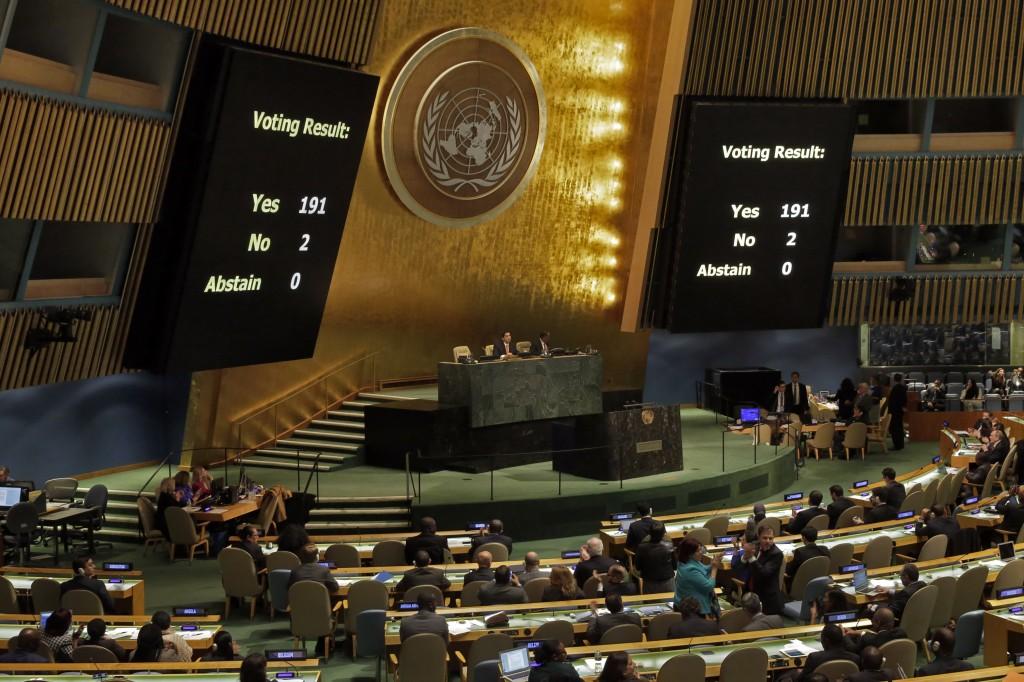 UN Cuba Blockade
