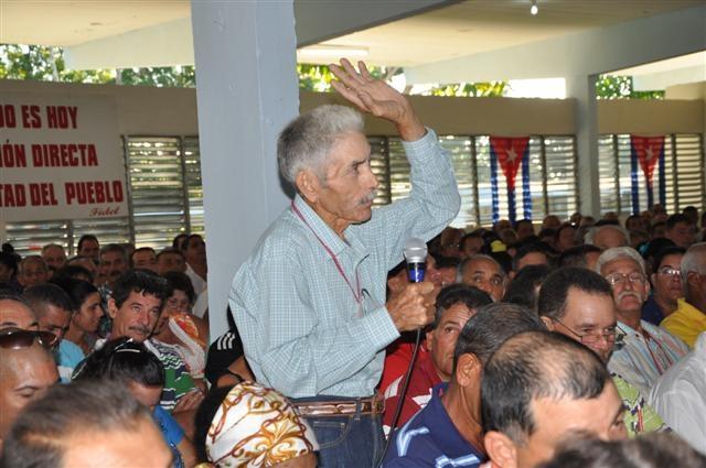 sancti spiritus, asamblea de balance del partido en yaguajay, pcc, partido comunista de cuba, produccion de alimentos, precios