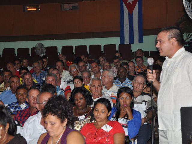 sancti spiritus, asamblea municipal del partido, pcc, la sierpe, arroz