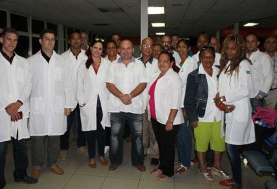 cuba, medicos cubanos, dominica, tormenta tropical erika