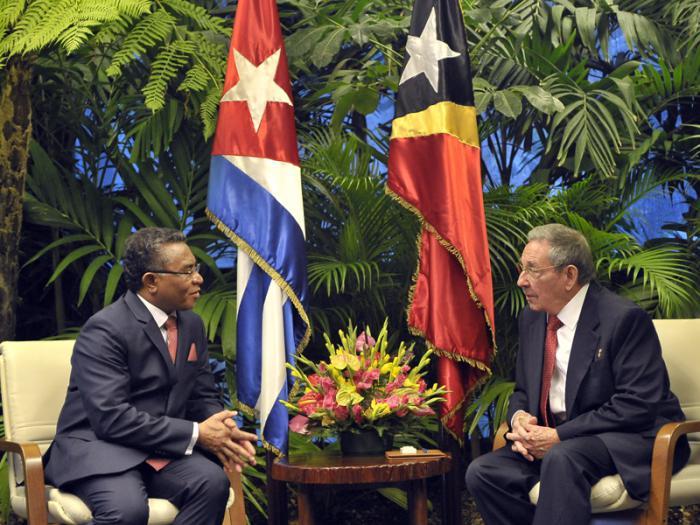 cuba, timor-leste, primer ministro de timor -leste, raul castro