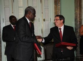 Bruno agradeció la permanente solidaridad de Chad con Cuba.