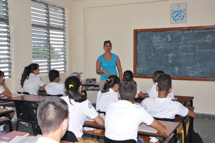 sancti spiritus, secundaria basica, educacion, enseñanza secundaria basica