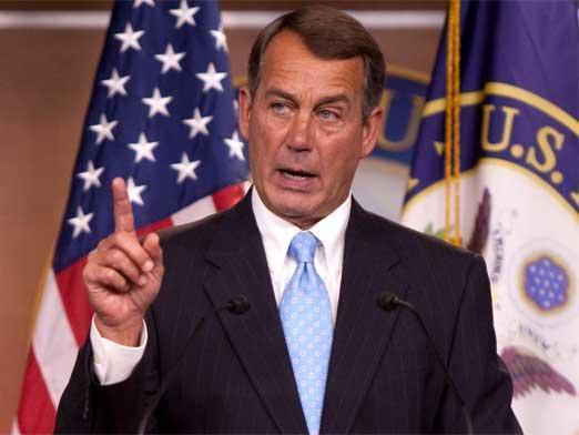 Boehner abandonará el 30 de octubre la presidenciad e la Cámara de Representantes.