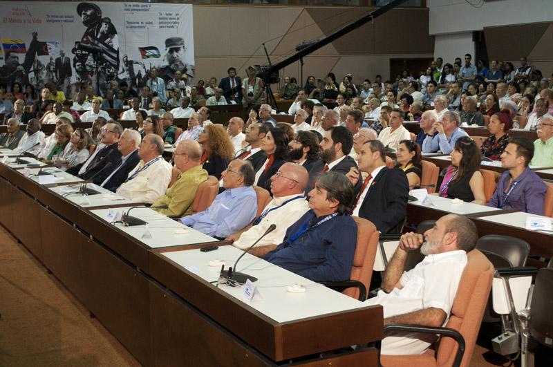 En la convención participan delegados de más de 30 países. (Foto: Faustino Delgado)