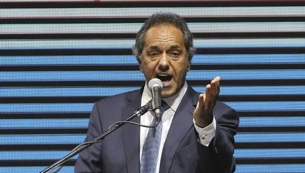 """Scioli precisó que """"la gente está tomando conciencia, no es un problema de miedo sino de memoria""""."""