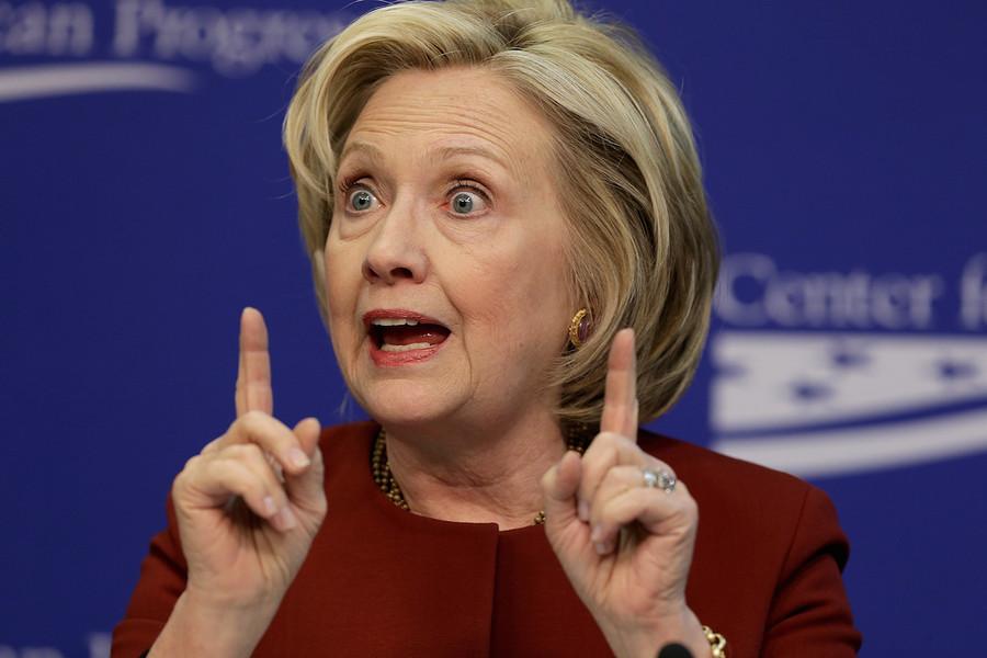 Nadie llega con los votantes latinos donde llega Hillary Clinton.  (Foto Getty Images)