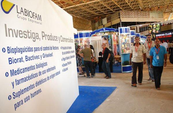 Labiofam presentará su cartera de negocios de bienes y servicios en la jornada de apertura de Fihav 2015.