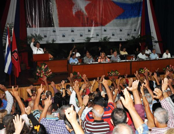 La Asamblea Provincial del PCC contó con la presencia de 250 delegados y numerosos invitados (foto: Vicente Brito).
