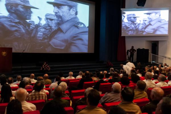 Acto político-cultural por el Aniversario 40 de la Independencia de Angola.