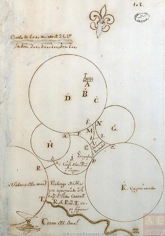 Realengos en Sancti Spíritus, siglo 18