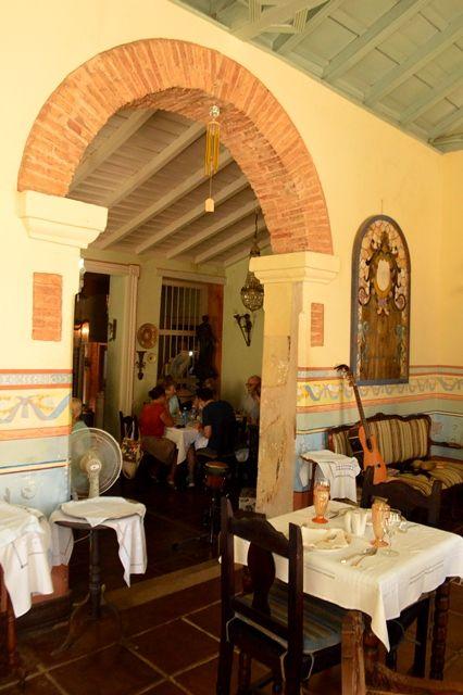La restauración de Sol Ananda, un ejemplo loable para la preservación del valioso patrimonio trinitario.  Foto: Carlos Luis Sotolongo Puig.