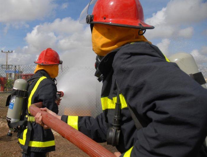 sancti spiritus, bomberos