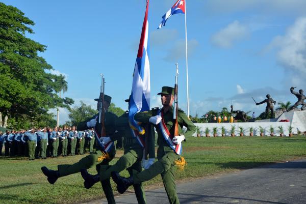 CUBA-MATANZAS-CELEBRAN ANIVERSARIO 40- OPERACION CARLOTA