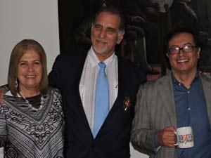 René González de visita en Colombia.
