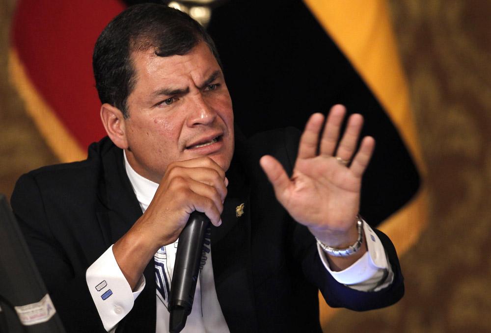 Una salida amistosa es lo que más conviene tanto a la empresa como a Ecuador, aunque esto nos llene de indignación, sentenció Correa.