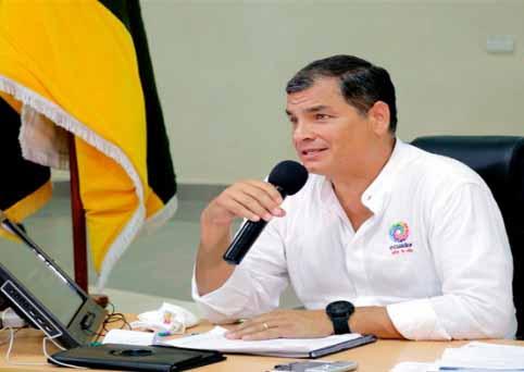 Correa pidió que si hay perseguidos políticos en Venezuela, lo demuestren, pues lo mismo dicen de Ecuador y citó ejemplos de mentiras contra su gobierno.
