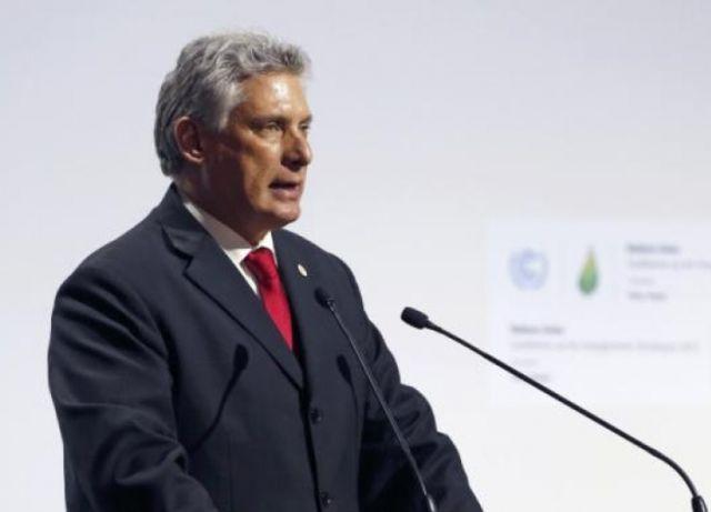 cuba, cambio climatico, miguel diaz-canel, francia, calentamiento global