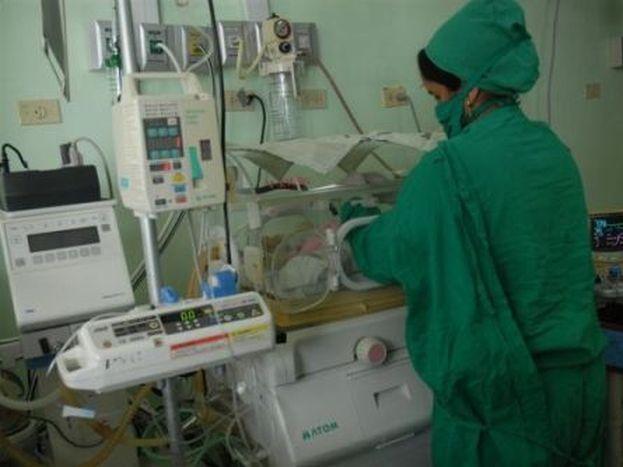 sancti spiritus, hospital provincial camilo cienfuegos, neonatologia