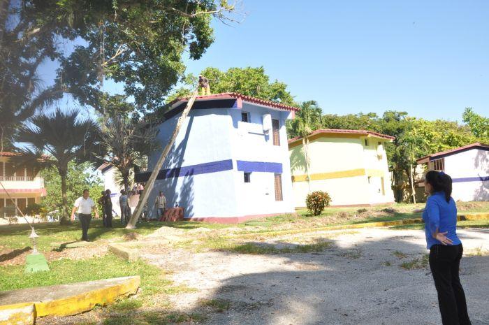 Varios centros de Islazul se benefician constructivamente. (Foto Vicente Brito)