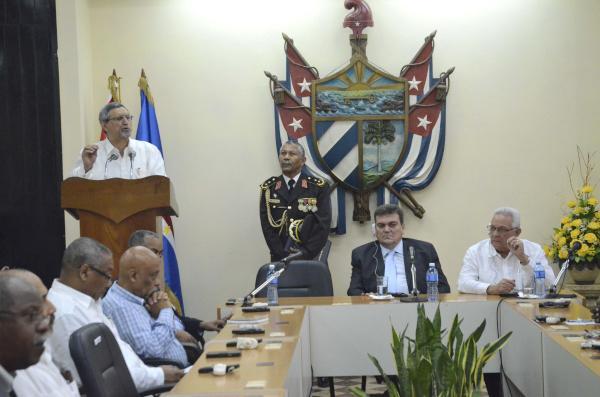 El presidente de Cabo Verde resaltó la cooperación solidaria de la Mayor de las Antillas para con su nación. (Foto ACN)