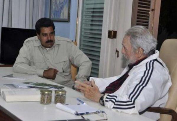 cuba, venezuela, fidel castro, nicolas maduro, elecciones en venezuela
