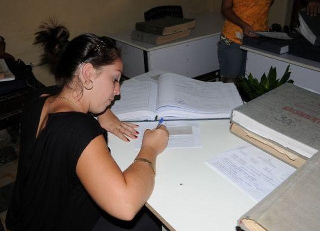 ministerio de justicia, cuba, registro civil, notarias