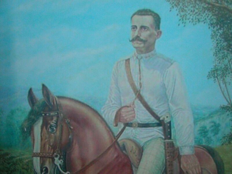 El ímpetu guerrero y calidad de patriota de Serafín fue cantado por poetas como Bonifacio Byrne.
