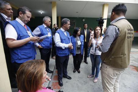 La misión de acompañamiento electoral de Unasur se activó a tempranas horas de este domingo. (Foto AVN)