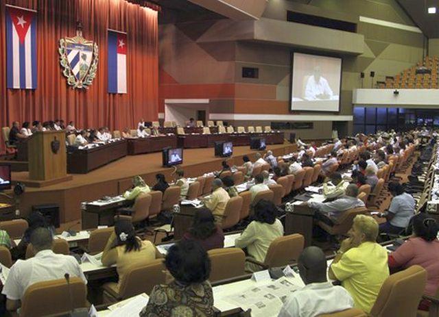 cuba, asamblea nacional del poder popular, parlamento cubano, economia cubana