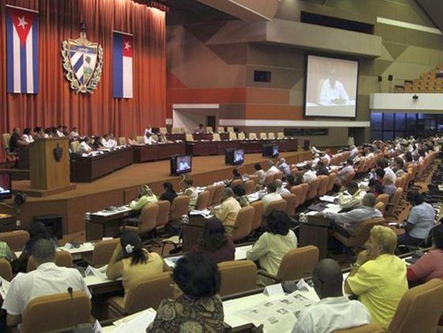 asamblea nacional del poder popular, parlamento cubano, economia cubana, raul castro, esteban lazo, cuba