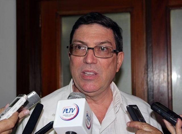 cuba, bruno rodriguez, costa rica, emigracion, ley de ajuste cubano, canciller cubano