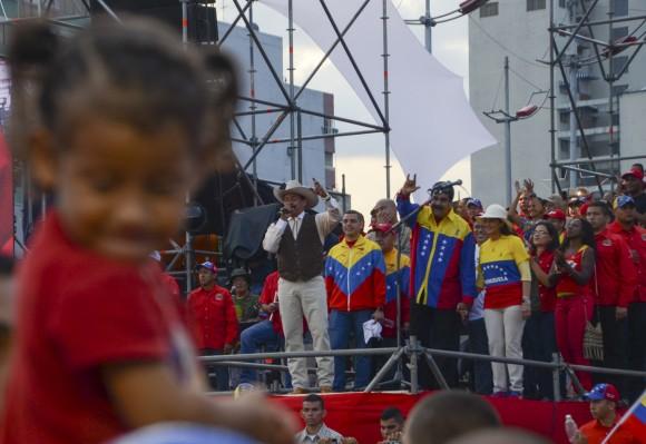 cierre de campaña electoral en venezuela 5 foto kaloianvenezuela, campaña electoral, venezuela en elecciones, nicolas maduro, gran polo patriotico