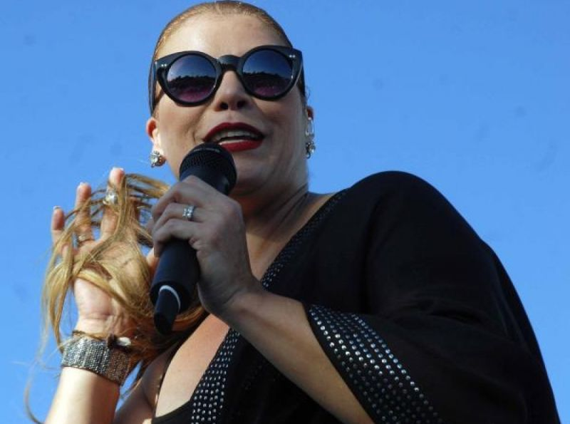 Puerto Rican Singer Olga Tan Kept Her Promise To Sing For Cubans With A Second Free Concert Be Offered Today In The Jos Mart Anti Imperialist