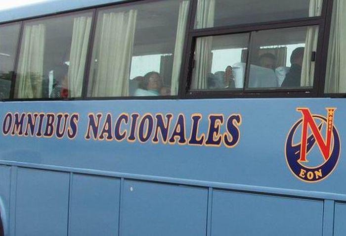 cuba, omnibus nacionales, transporte terrestre