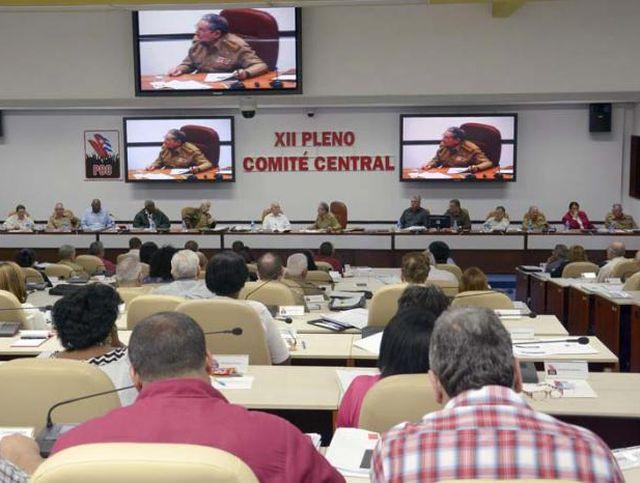 cuba, comite central del partido, pcc, raul castro