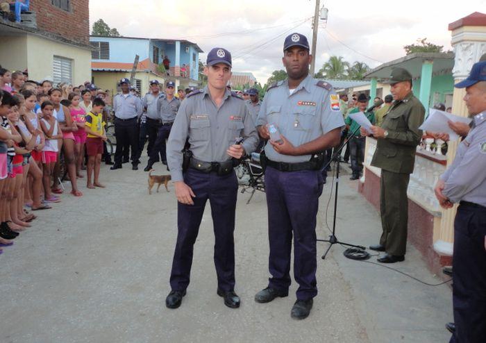 sancti spiritus, policia nacional revolucionaria, delito