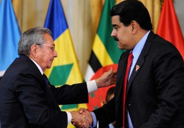 cuba, venezuela, raul castro, nicolas maduro, elecciones en venezuela