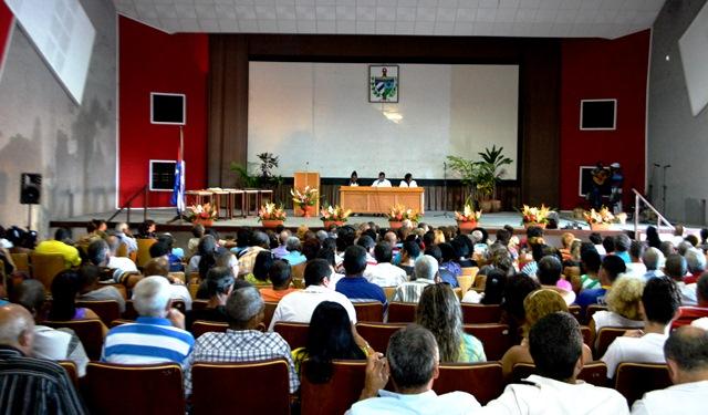 La Asamblea Solemne del Poder Popular dio inicio oficial a la Semana de la Cultura. (Foto: Carlos Luis Sotolongo / Escambray)