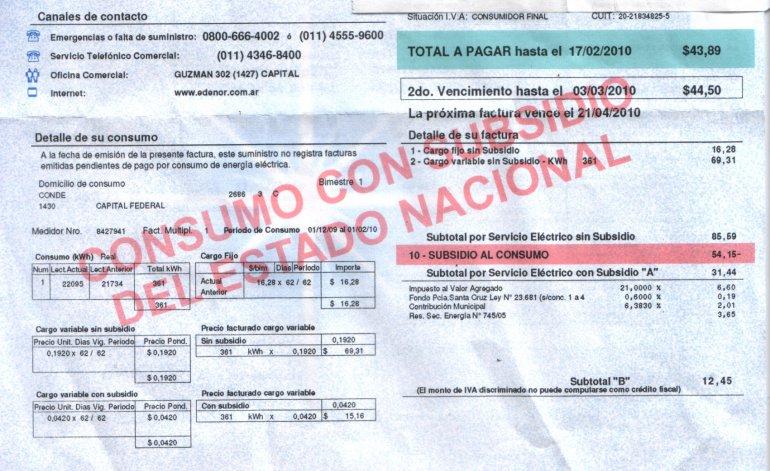 El aumento que se aplicará a partir de este lunes 1 de febrero se debe a la decisión del gobierno de Mauricio Macri de eliminar los subsidios.