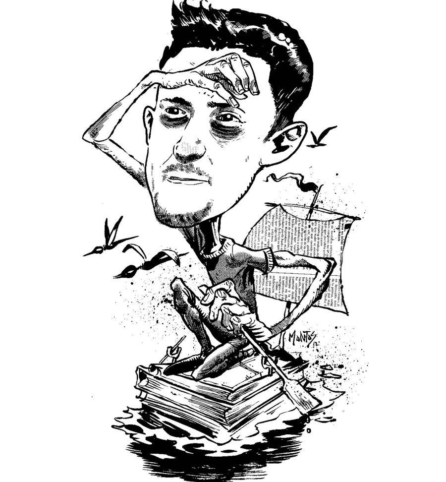 sancti spiritus, caricatura, periodico escambray, montoz,  boyce