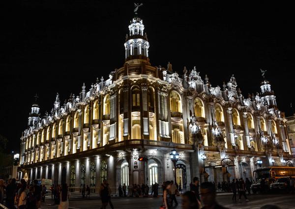 Gran Teatro de La Habana Alicia Alonso. (Foto ACN)