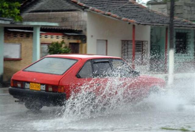 sancti spiritus, yaguajay, intensas lluvias, pronostico del tiempo