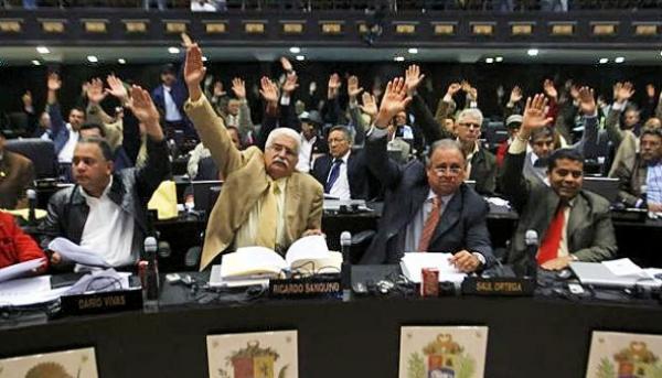 La Asamblea Nacional venezolana está conformada por 167 diputados.