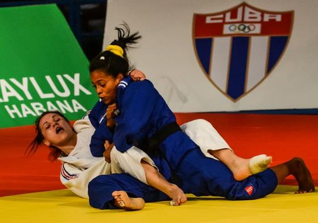 sanctyi spiritus, dayaris mestre, gran prix de judo de la habana, judo