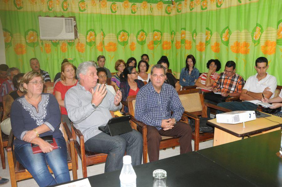 sancti spiritus, miguel diaz-canel, primer vicepresidente cubano, periodico escambray